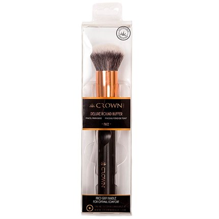 Crown Deluxe Round Buffer Face Brush