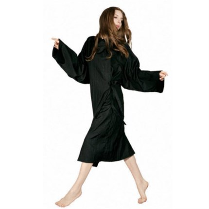 Derry Hair Gown - Black