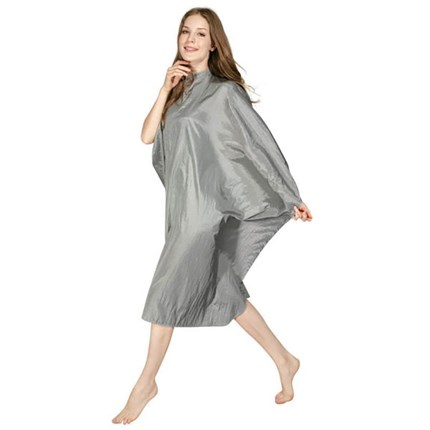 Dream Dexy Crinkle Cape - Grey