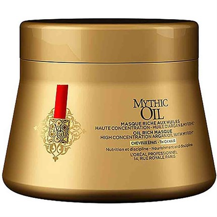 L'Oréal Professionnel Mythic Oil Masque 200ml - For Thick Hair
