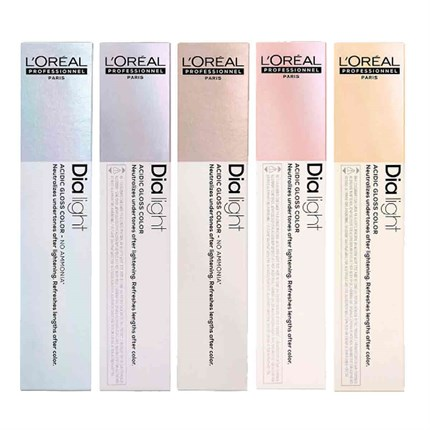 L'Oréal Professionnel DIALIGHT 50ml 8.11 - Charcoal Milkshake