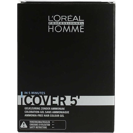 L'Oréal Professionnel HOMME Cover 5 (3x 50ml) No7 - Medium Blonde