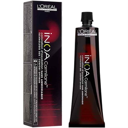 L'Oréal Professionnel INOA Carmilane 60g 6.64 - Dark Red Copper Blonde Carmilane