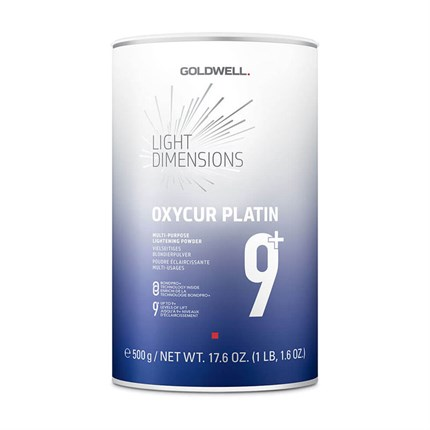 Goldwell Oxycur Platin Dust Free Bleach 500g Blue
