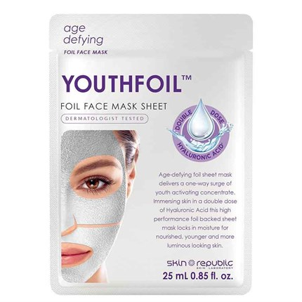 Skin Republic Youthfoil Foil Face Mask 25ml