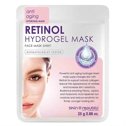 Skin Republic Retinol Hydrogel Sheet Face Mask