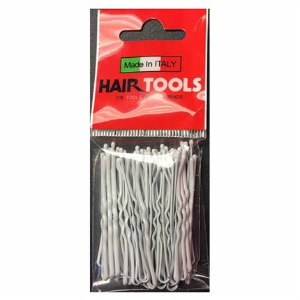 Hair Tools Waved Grips 2 inch Pk50 - White