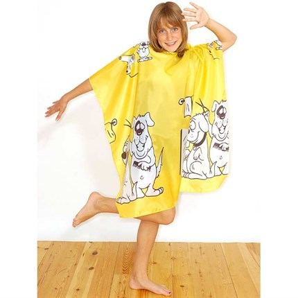 Hair Tools Childrens Doggy Gown - Yellow