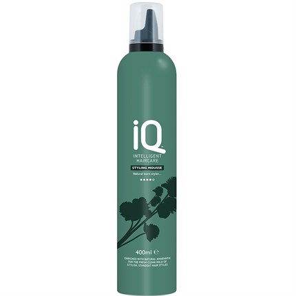 IQ Intelligent Haircare Styling Mousse 400ml