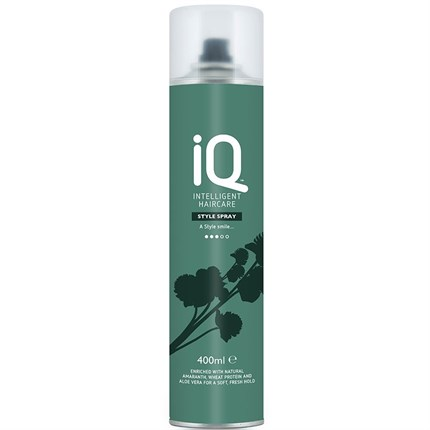 IQ Intelligent Haircare Style Spray 400ml