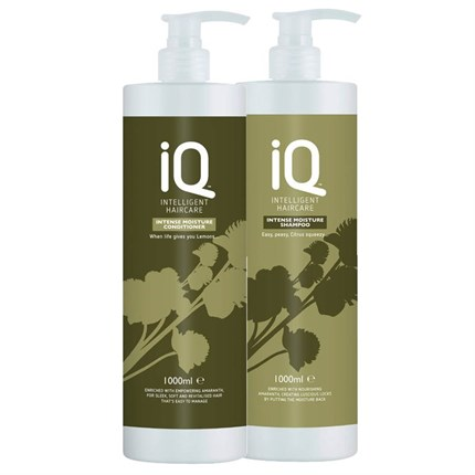 IQ Intelligent Haircare Intense Moisture Twin Pack 1 Litre