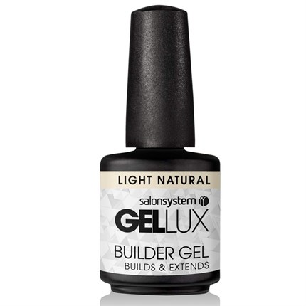 Salon System Gellux Builder Gel 15ml - Light Natural