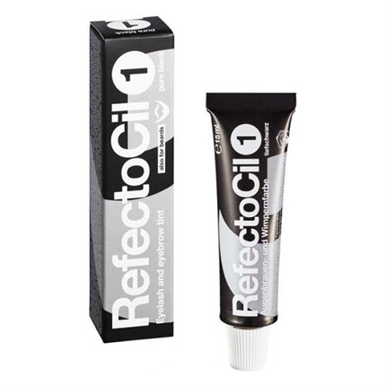 RefectoCil Lash & Brow Tint 1 - Pure Black 15ml