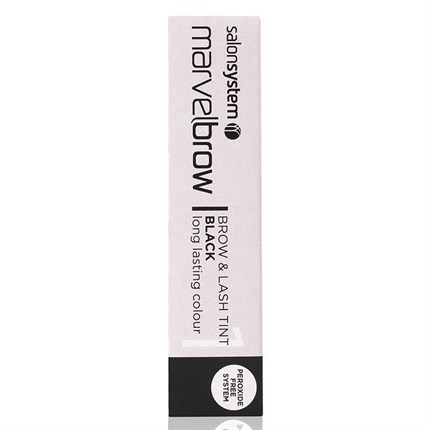 Salon System Marvelbrow Brow & Lash Tint Black 15ml