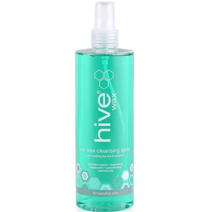 Hive Pre Wax Cleansing Spray With Tea Tree & Lemon Oil 400ml