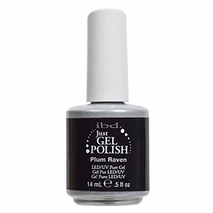 Ibd Just Gel Polish 14ml - Plum Raven