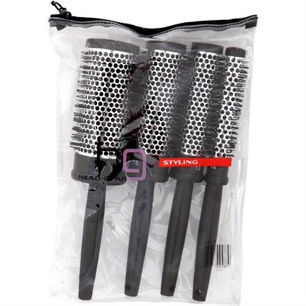 Head-Gear Quattro 4 Piece Brush Set