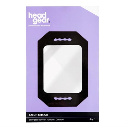 Head-Gear Salon Mirror - Black