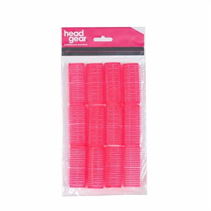 Head-Gear Velcro Rollers - Pink Pk12 (24mm)