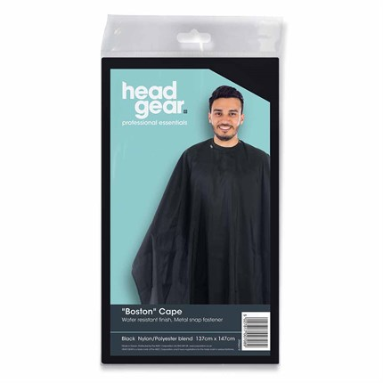 Head-Gear Boston Gents Standard Cape - Black