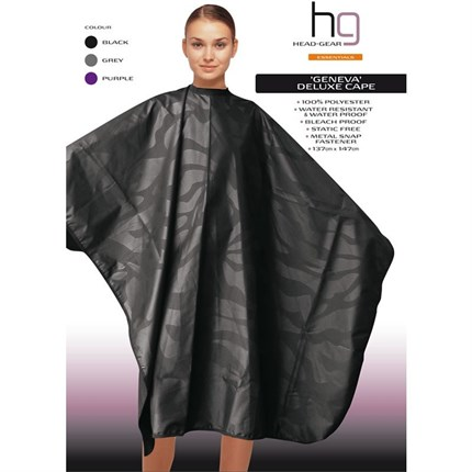 Head-Gear Geneva Deluxe Cape - Black
