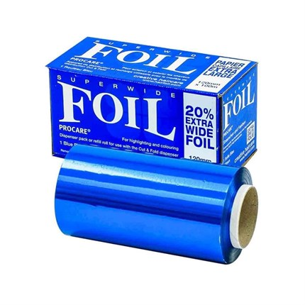 Procare Superwide Foil 120mm x 100m - Blue