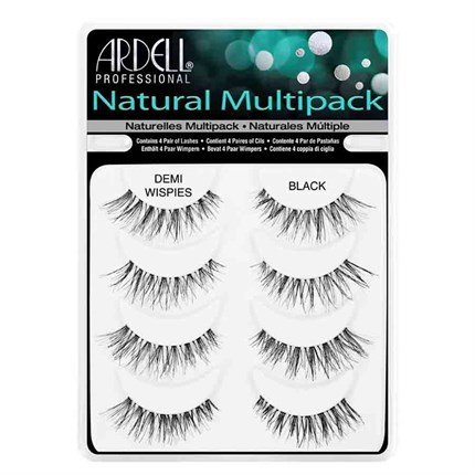 Ardell Natural Lashes - Demi Wispies Black Multipack