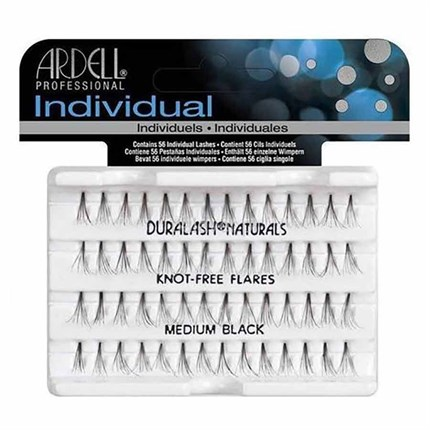 Ardell Individual Lashes - Knot-Free Medium Black