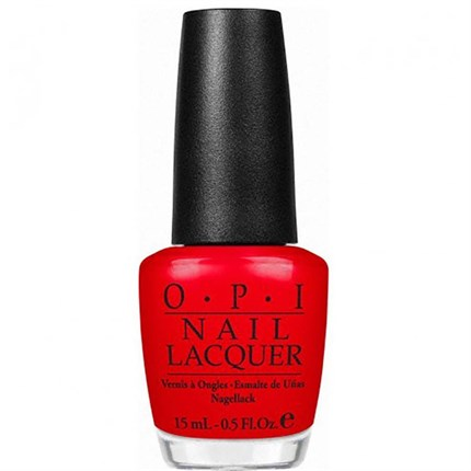 OPI Lacquer 15ml - Big Apple Red