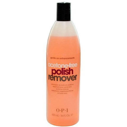 OPI Acetone Free Polish Remover 450ml Pink