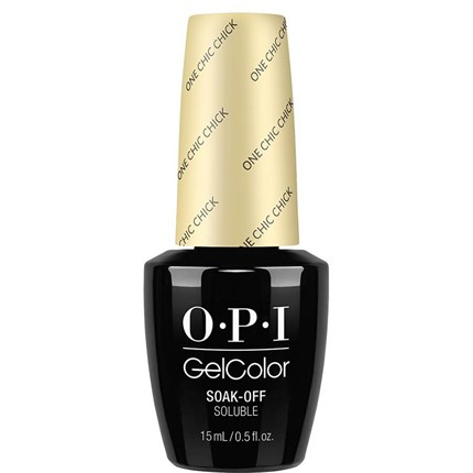 OPI GelColor 15ml - Soft Shades - One Chic Chick
