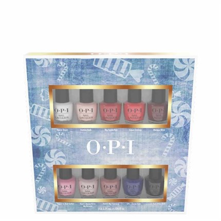 OPI Lacquer Christmas Mini (10 Pack)