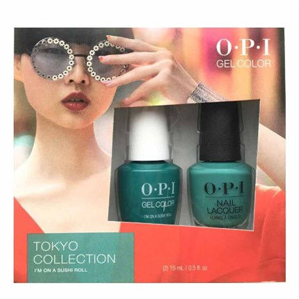 OPI Duo Set 15ml - GelColor & Lacquer - I'm on a Sushi Roll