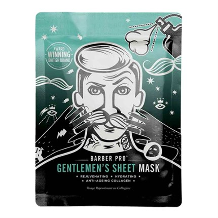 BARBER PRO Gentlemens Sheet Mask - Single