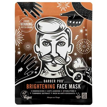 BARBER PRO Brightening Face Mask - Single