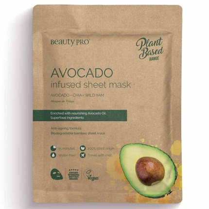 Natura Vegan Avocado Sheet Mask