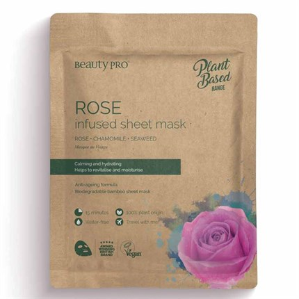 Natura Vegan Rose Sheet Mask