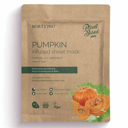 Natura Vegan Pumpkin Sheet Mask