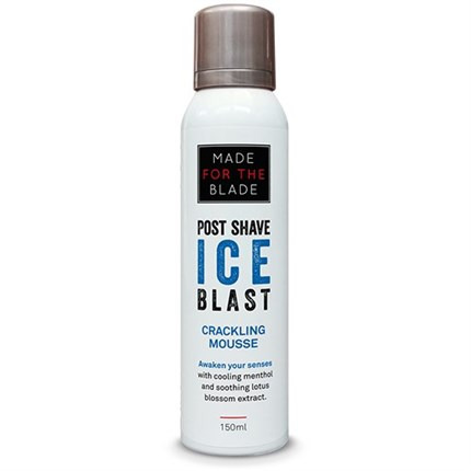 Made For The Blade Post Shave Ice Blast Crackling Mousse 150ml