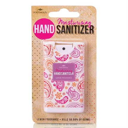 MAD Beauty Hand Sanitizer Paisley Lemon