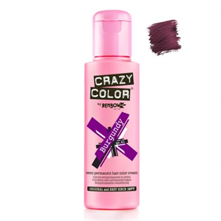 Crazy Color Hair Colour Creme 100ml - Burgundy