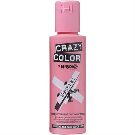 Crazy Color Hair Colour Creme 100ml - Neutral