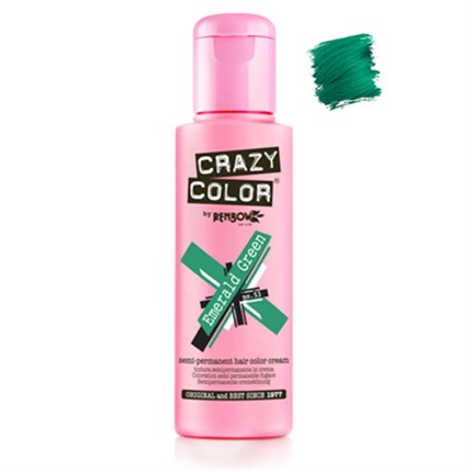Crazy Color Hair Colour Creme 100ml - Emerald Green