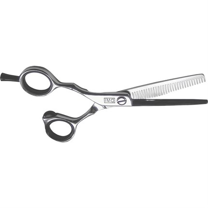 DMI 30 Tooth Left Handed Thinning Scissors (5.5 inch) - Black