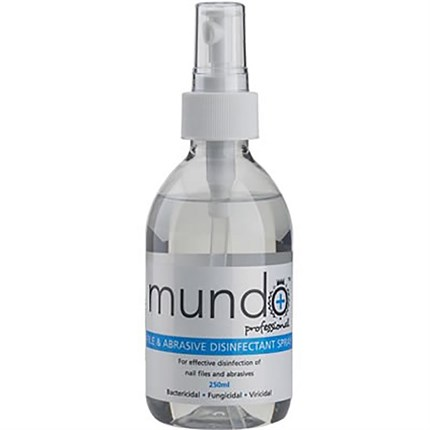 Mundo File and Abrasive Disinfectant Spray 250ml