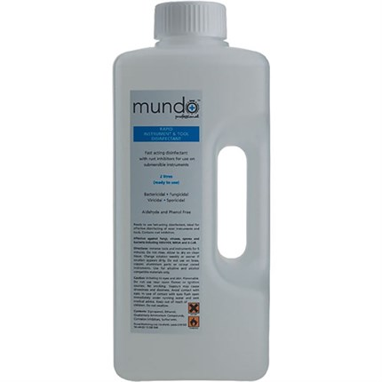 Mundo Rapid Instrument Disinfection 2 Litres (Ready To Use)