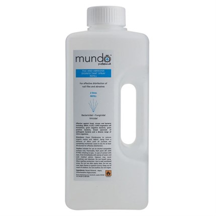 Mundo File and Abrasive Disinfectant Spray 2L