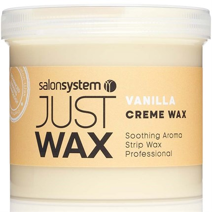 Salon System Just Wax - Vanilla Creme Wax 450g