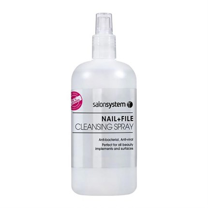 Salon System Nail & File Cleansing Spray 500ml