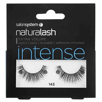 Salon System Naturalash Strip Lashes - 143 Black